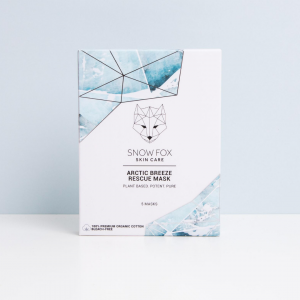 Snow Fox Sheet Mask -...